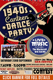 1940s CANTEEN DANCE PARTY