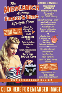 MIDDLEWICH AUTUMN VINTAGE & RETRO EVENT
