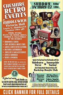CHESHIRE RETRO EVENTS AT MIDDLEWICH